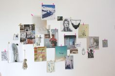 Fashion moodboard wall!