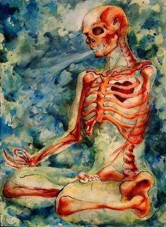 Zen Skeletpn by Quilsnap