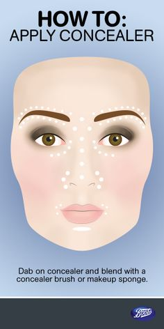 Check out our concealer tutorial for a flawless face.