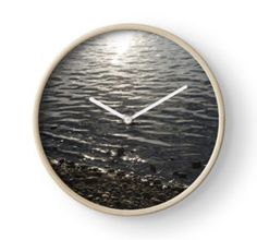 'Shore at Sundown' Photographic Print by MsSexyBetsy Artsy Fartsy, Promotion, Clock, Wall, Home Decor, Watch, Decoration Home, Room Decor, Clocks