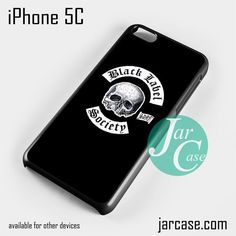 Black Label Society Phone case for iPhone 5C and other iPhone devices