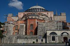 Hagia Sophia Exterior from SE Byzantine Architecture, Roman Architecture, Historical Architecture, Beautiful Architecture, Architecture Details, Aya Sophia, Hagia Sophia Istanbul, Ancient Egyptian Art, Luxor Egypt