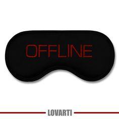 CLEVER and USEFUL Gift: Funny Sleeping Mask OFFLINE - Modern Minimalist Sleep…