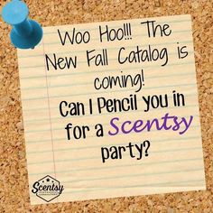 YAY!! The new Fall/Winter Scentsy CATALOG is coming!!! Comment below if you would like me to mail you one. #smellarific
