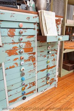 knot too shabby: 59 Drawers