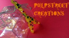 RockStar Glam Resin Guitar Pendant Necklace by PulpStreetCreations, $7.50