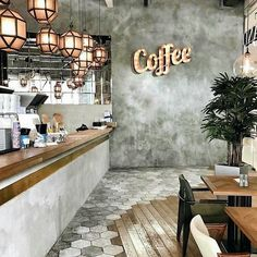 Coffee shop interior decor ideas 2