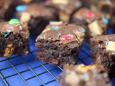 candy crush brownies