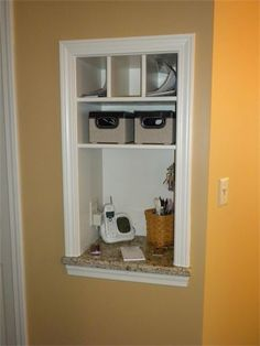 built in bathroom medicine cabinets. Space Between Studs, Built In Nook For Purses, Cell Phones, Mail! I Bathroom Medicine Cabinets T