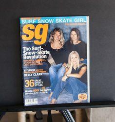 Sg Surf Snow Skate Girl Magazine Premier oct 2002 surf snow skate revolution