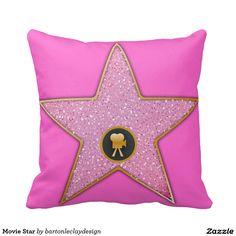 Movie Star Throw Pillows