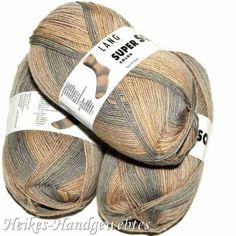 Super Soxx Color 4-fach Hellbraun Lang Yarns Super, Hats, Design, Fashion, Colors, Medium Brown, Get Tan, Nice Asses, Ideas