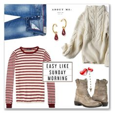 """I'm Easy Like Sunday Morning"" by idocoffee ❤ liked on Polyvore featuring Diesel, Bloomingdale's and polyvoreeditorial"