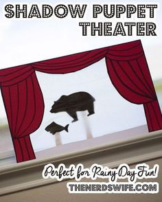 DIY Shadow Puppet Theater and Emergency Kit #PrepWithPower #Shop