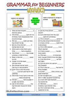 Grammar for Beginners: nouns (2) | FREE ESL worksheets | Useful ...