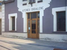 Ateneu Ordalenc, Ordal https://www.facebook.com/ateneu.ordalenc