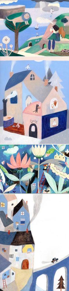 Ilustrations by Makoto Maruyama / On the Blog!