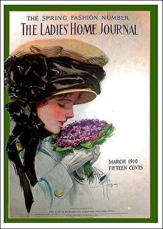 Ladies' Home Journal The Spring Fashion Number March 1910 Harrison Fisher