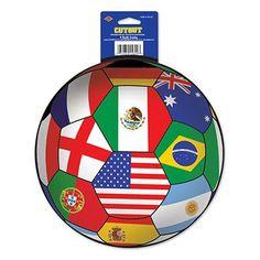 International Football Cutout - 35.6cm