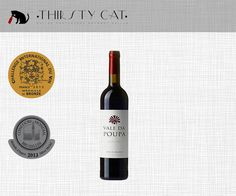 Great Awarded Red Wines under 5€ ! VALE DA POUPA RED 2012 -https://thirstycat.shopk.it/product/vale-da-poupa-red-2012