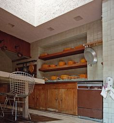 Kitchen - Jardines del Pedregal Mexico City Luis Barragán 1950