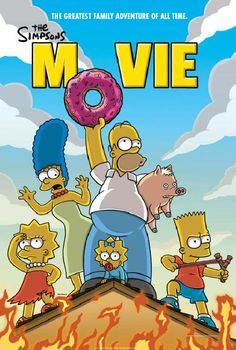 """Click If You Like The """"Simpson Movie"""""""