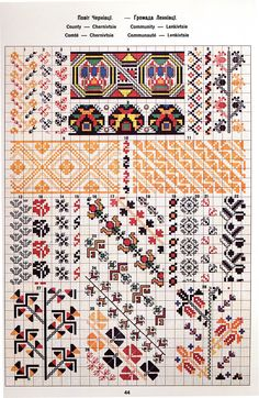 Cross Stitch Borders, Cross Stitch Patterns, Embroidery Patterns, Hand Embroidery, Palestinian Embroidery, Folk Clothing, Patterned Carpet, Art Forms, Needlework