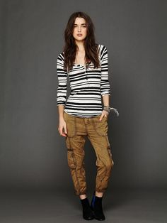 Free People Drapey Utility Pant at Free People Clothing Boutique