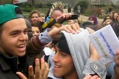 Chaos! Seven hospitalised after police shut down The #Janoskians Hyde Park appearance