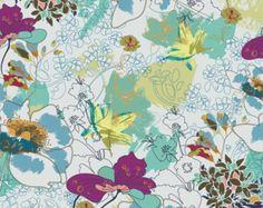 Delicate Duet in Pink POE-702 Art Gallery Fabrics por MoonaFabrics