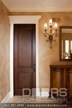 Home front door design photos main for new models grill brown interior doors dark vs black Traditional Interior Doors, Brown Interior Doors, Custom Interior Doors, Door Design Interior, Brown Doors, Home Interior, Traditional Design, Minimal Traditional, Simple Interior
