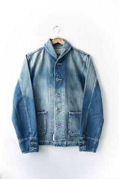 1940s USN denim duty jacket
