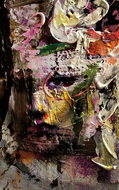 Valentino quijano - abstract textures portrait