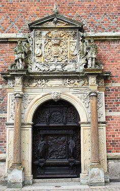 Grand door in Denmark