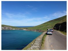 on the road to Slea Head, Dingle peninsula