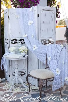 Shabby Chic, Vintage Glam, Vintage Chic Wedding Party Ideas   Photo 21 of 78   Catch My Party