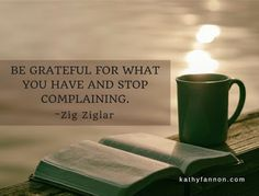 Be Grateful | Be Real {kf} #health