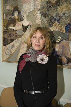 Марина Принцева. Текстильное панно