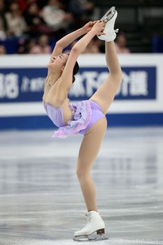 Mao Asada - ISU World Figure Skating Championships 2014 - DAY 2