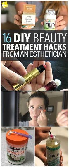 DIY Beauty Treatment Hacks from an Esthetician