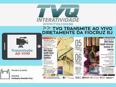 TVQ transmite diretamente da FIOCRUZ RJ o evento, WHO Global Health Histories Seminar 97: Leprosy. Data: 06/05/2016 a partir das 9:30h.  #TVQINTERATIVIDADE #TRANSMISSÃO #AOVIVO #ONLINE