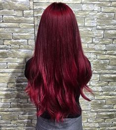 2019 En Tutkulu 35 Kızıl Saç Renkleri - Dark Red Hair Color Ideas – Colors Colors… Imágenes efectivas que le proporcionamos sobre healt - Grey Hair Wig, Ombre Hair, Dark Hair, Blonde Hair, Dark Res Hair, Hair Dye, Brunette Hair, White Hair, Brown Hair