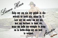 Jesus se Seunskind: Soek jou blydskap in die Here Good Morning Love, Afrikaans, Help Me, God, Dios, Good Morning My Love, Praise God, The Lord