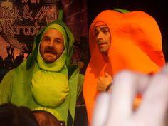 Richard Speight Jr. and Matt Cohen wear partner Halloween costumes