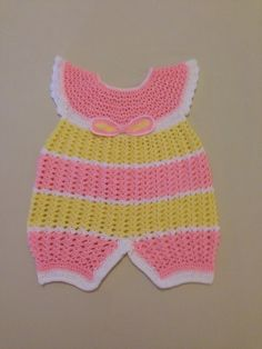 Crochet barboteuse pour bebe by BBerthe