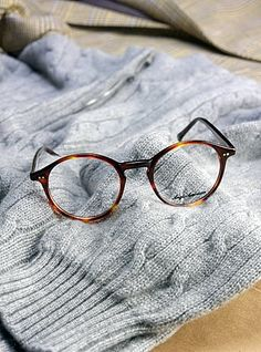 If I ever need glasses, I'm getting me a pair like this.