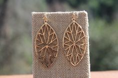 Peach Roots - Gold Star Earrings, $12.50 (http://peachroots.com/gold-star-earrings/)