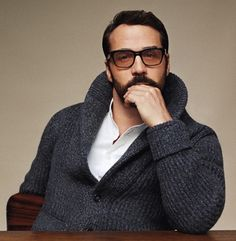 Jeremy Piven by Angelo Pennetta for Mr. Porter