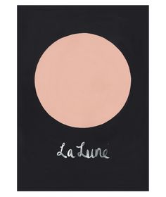 la lune print / the adventures of