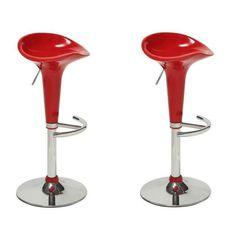 59.99 € ❤ Pour la #Maison - POP Lot de 2 #tabourets de bar rouges Finition : chromé ➡ https://ad.zanox.com/ppc/?28290640C84663587&ulp=[[http://www.cdiscount.com/maison/fauteuil-pouf-poire/pop-lot-de-2-tabourets-de-bar-rouges/f-11720030101-wy103rouge.html?refer=zanoxpb&cid=affil&cm_mmc=zanoxpb-_-userid]]